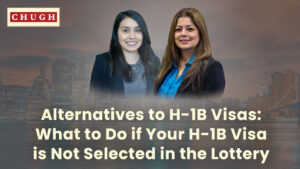 H-1B Alternatives: What to Do if Your H-1B Visa is Not Selected in the Lottery